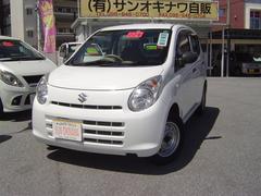 沖縄の中古車 スズキ アルト 車両価格 46万円 リ済込 平成22年 3.3万K ホワイトM