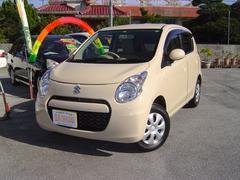 沖縄の中古車 スズキ アルト 車両価格 63万円 リ済込 平成25年 5.4万K ゴールドM