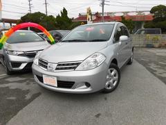 沖縄の中古車 日産 ティーダラティオ 車両価格 63万円 リ済込 平成24年 3.8万K シルバーM