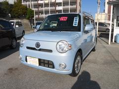 沖縄の中古車 ダイハツ ミラココア 車両価格 65万円 リ済込 平成21年 7.7万K ライトブルーM