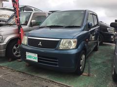沖縄の中古車 三菱 eKワゴン 車両価格 27万円 リ済込 平成17年 7.8万K 紺