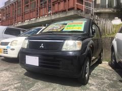 沖縄の中古車 三菱 eKワゴン 車両価格 25万円 リ済込 平成18年 8.1万K ブラック