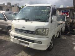 沖縄の中古車 ダイハツ ハイゼットトラック 車両価格 39万円 リ済込 平成13年 9.9万K ホワイト