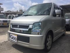 沖縄の中古車 スズキ ワゴンR 車両価格 13万円 リ済込 平成17年 13.1万K シルバー
