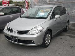 沖縄の中古車 日産 ティーダ 車両価格 37万円 リ済込 平成19年 8.2万K シルバー