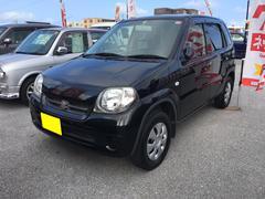 沖縄の中古車 スズキ Kei 車両価格 33万円 リ済込 平成20年 8.0万K ブラック