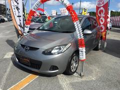 沖縄の中古車 マツダ デミオ 車両価格 49万円 リ済込 平成21年 7.7万K シルバー