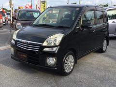沖縄の中古車 スバル ステラ 車両価格 39万円 リ済込 平成20年 8.4万K ブラック