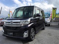 沖縄の中古車 ダイハツ タント 車両価格 113万円 リ済込 平成25年 4.3万K ダークパープル