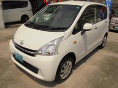 沖縄の中古車 ダイハツ ムーヴ 車両価格 58万円 リ済込 平成24年 4.3万K ホワイト