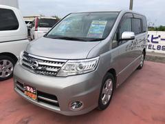 沖縄の中古車 日産 セレナ 車両価格 125万円 リ済込 平成22年 8.5万K シルバーM