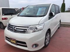 沖縄の中古車 日産 セレナ 車両価格 125万円 リ済込 平成22年 8.1万K パールホワイト