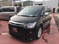 沖縄の中古車 三菱 デリカD:5 車両価格 145万円 リ済込 平成22年 7.0万K ブラック
