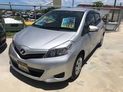 沖縄の中古車 トヨタ ヴィッツ 車両価格 75万円 リ済込 平成23年 1.5万K シルバー