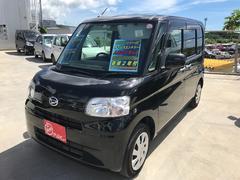 沖縄の中古車 ダイハツ タント 車両価格 80万円 リ済込 平成24年 5.9万K ブラック