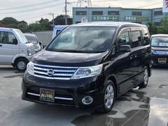 沖縄の中古車 日産 セレナ 車両価格 115万円 リ済込 平成22年 8.4万K ブラック