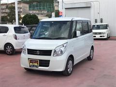沖縄の中古車 スズキ パレット 車両価格 75万円 リ済込 平成23年 7.0万K パールホワイト