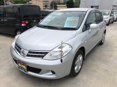 沖縄の中古車 日産 ティーダ 車両価格 70万円 リ済込 平成24年 5.1万K シルバーM