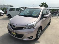 沖縄の中古車 トヨタ ヴィッツ 車両価格 72万円 リ済込 平成24年 5.2万K ピンク