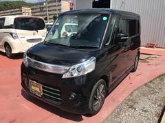 沖縄の中古車 スズキ スペーシアカスタム 車両価格 100万円 リ済込 平成25年 7.8万K ブラック