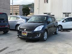 沖縄の中古車 スズキ スイフト 車両価格 100万円 リ済込 平成26年 3.7万K Dブラック
