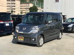 沖縄の中古車 ホンダ N BOXカスタム 車両価格 115万円 リ済込 平成24年 7.4万K グレー