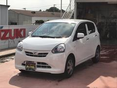 沖縄の中古車 ダイハツ ミライース 車両価格 52万円 リ済込 平成24年 6.5万K ホワイト