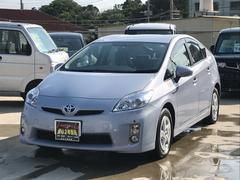 沖縄の中古車 トヨタ プリウス 車両価格 95万円 リ済込 平成23年 5.5万K ライトブルー