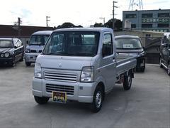 沖縄の中古車 スズキ キャリイトラック 車両価格 62万円 リ済込 平成25年 7.7万K シルバー