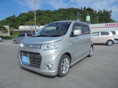 沖縄の中古車 スズキ ワゴンRスティングレー 車両価格 ASK リ済込 平成25年 4.8万K シルキーシルバーメタリック