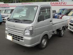 沖縄の中古車 スズキ キャリイトラック 車両価格 75万円 リ済込 平成27年 0.9万K シルバー