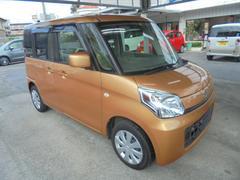 沖縄の中古車 スズキ スペーシア 車両価格 ASK リ済込 平成26年 4.1万K キャンドルオレンジメタリック