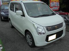 沖縄の中古車 スズキ ワゴンR 車両価格 83万円 リ済込 平成26年 1.6万K パールホワイト