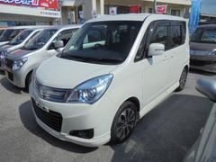 沖縄の中古車 スズキ ソリオ 車両価格 ASK リ済込 平成26年 3.8万K パールホワイト