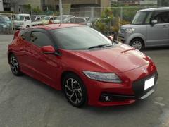 沖縄の中古車 ホンダ CR−Z 車両価格 227万円 リ済込 平成28年 0.7万K ミラノレッドII