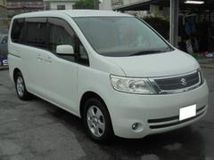 沖縄の中古車 スズキ ランディ 車両価格 53万円 リ済込 平成19年 8.8万K ホワイトパール