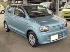 沖縄の中古車 スズキ アルト 車両価格 76万円 リ済込 平成28年 1.0万K フィズブルーパールメタリック