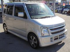 沖縄の中古車 スズキ ワゴンR 車両価格 49万円 リ済込 平成20年 5.8万K シルキーシルバーメタリック