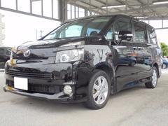 沖縄の中古車 トヨタ ヴォクシー 車両価格 89万円 リ済込 平成19年 7.1万K ブラック