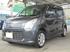 沖縄の中古車 スズキ ワゴンR 車両価格 69万円 リ済込 平成25年 4.8万K ルナグレーパールメタリック