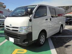 沖縄の中古車 トヨタ ハイエースバン 車両価格 159万円 リ済込 平成24年 15.0万K ホワイト