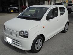 沖縄の中古車 スズキ アルト 車両価格 74万円 リ済込 平成28年 1.0万K スペリアホワイト