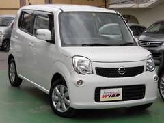 沖縄の中古車 日産 モコ 車両価格 64.9万円 リ済込 平成23年 6.9万K スノーパールホワイト
