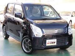 沖縄の中古車 スズキ ワゴンR 車両価格 60.9万円 リ済込 平成24年 7.7万K ブルーイッシュブラックパール3