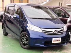 沖縄の中古車 ホンダ フリード 車両価格 99.8万円 リ済込 平成24年 6.2万K コバルトブルーパール