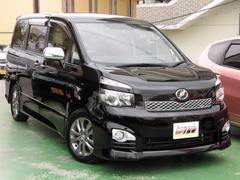 沖縄の中古車 トヨタ ヴォクシー 車両価格 119.8万円 リ済込 平成22年 9.2万K ブラック