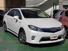 沖縄の中古車 トヨタ SAI 車両価格 119.8万円 リ済込 平成24年 7.0万K ホワイトパールクリスタルシャイン