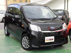 沖縄の中古車 スバル ステラ 車両価格 51.9万円 リ済込 平成25年 9.8万K ブラックマイカM