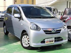 沖縄の中古車 ダイハツ ミライース 車両価格 45.9万円 リ済込 平成25年 8.6万K ブライトシルバーメタリック