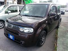 沖縄の中古車 日産 キューブ 車両価格 54万円 リ済込 平成21年 7.9万K Dブラウン